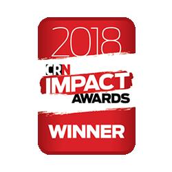 WINNER 2018 CRN Impact Award - Emerging Innovator